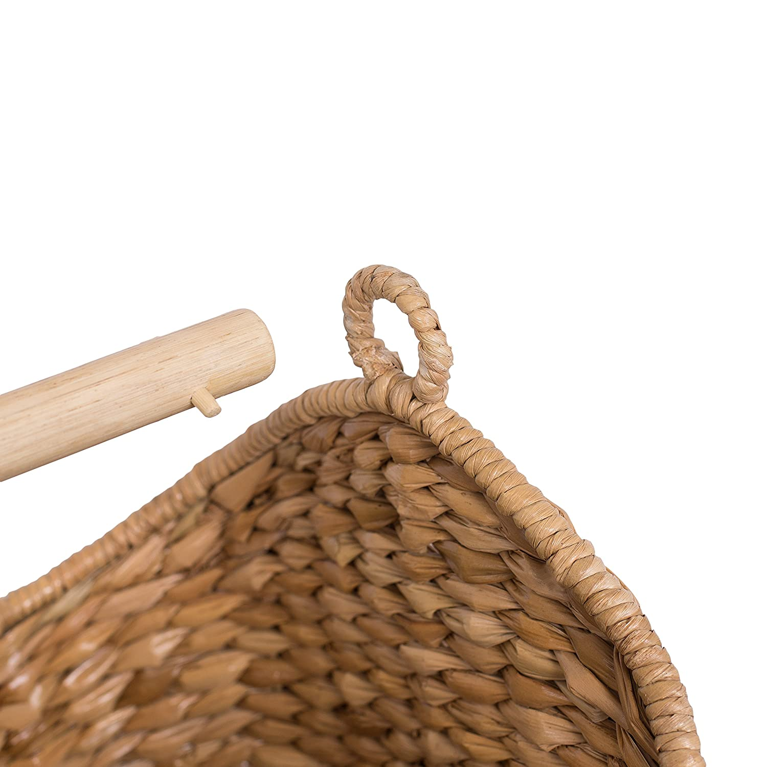 Amazon.com: BirdRock Home Seagrass Magazine and Bathroom Basket ...