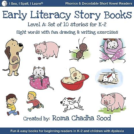 e-book Level 1a (Learning 2 Read Phonics Level 1) 4 Mini Stories