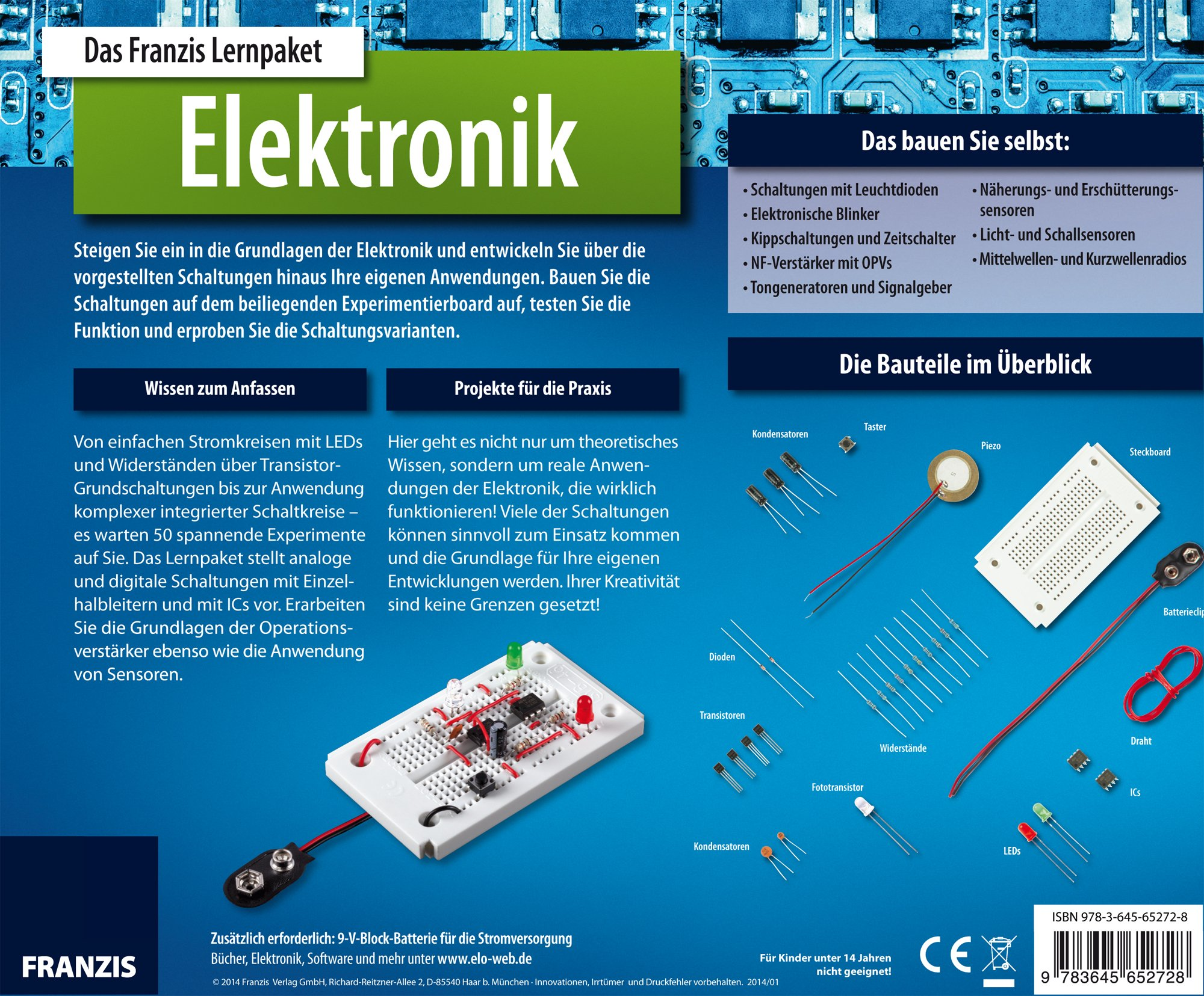 Lernpaket Elektronik: Amazon.de: Burkhard Kainka: Bücher