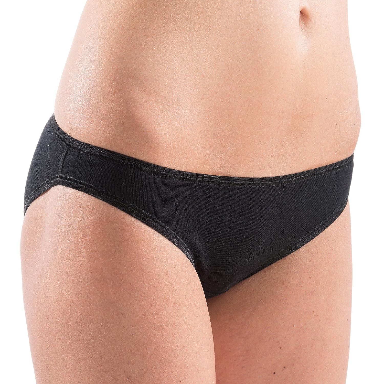 HERMKO 5032 Damen Mini Slip (Bikini-Form) aus Cotton/elastan