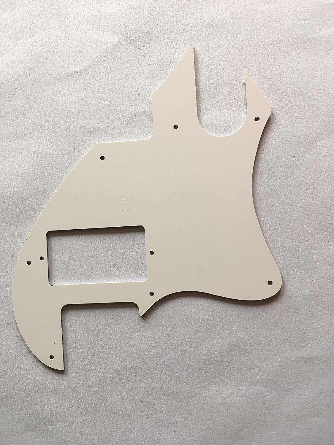 Custom For Tele F Hole Convertion PAF Electric Guitar Pickguard 4 Ply Brown Tortoise