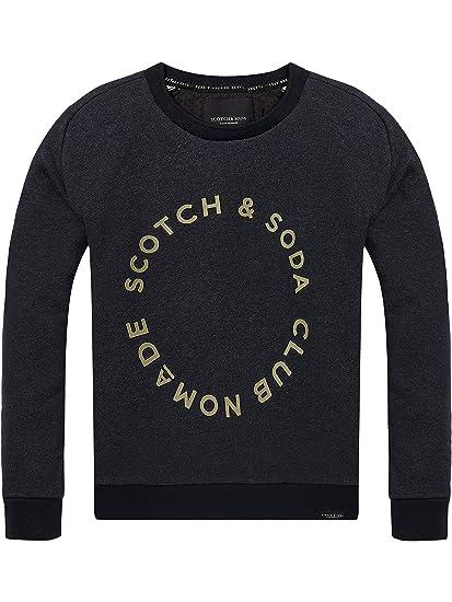 Scotch & Soda Jungen Sweatshirt Club Nomade Crew Neck Sweat
