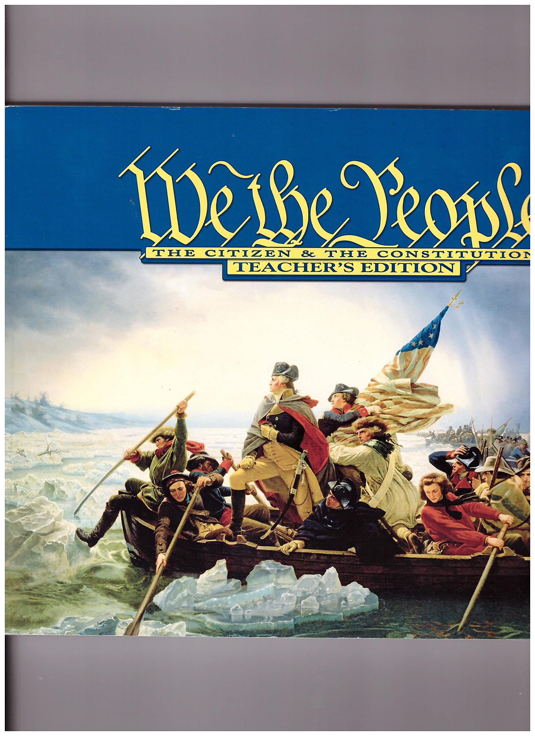 Download We the People The Citizen & The Constitution Teacher's Edition Level 1 ebook