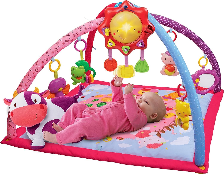 color rosa versi/ón francesa VTech Baby Manta convertible en gimnasio