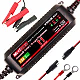MOTOPOWER MP00207A 12V 2Amp Smart Automatic Battery Charger Maintainer for Both Lead Acid Batteries and Lithium Ion Batteries