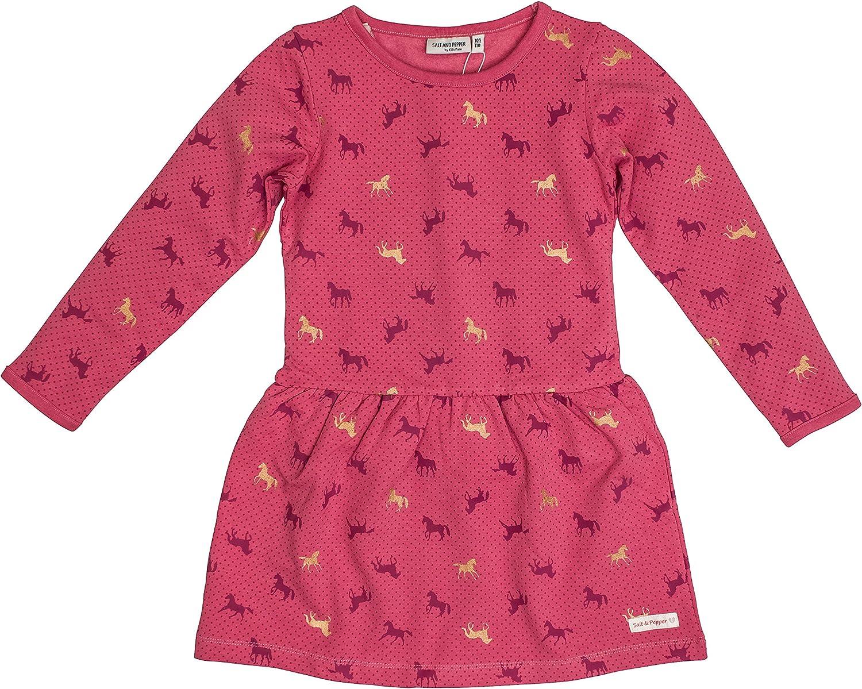 Salt /& Pepper Mädchen Kleid Shirtkleid Pferd Pferde Neu 104-146