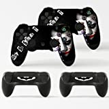 GNG 2 x Joker PlayStation 4 Controller Skins Full Wrap Vinyl Sticker