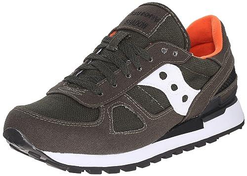 new styles 17245 b64ad Scarpe Saucony S70219-1 0885 - Sneaker unisex Shadow Original, verde (37.5)