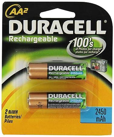 Amazon.com: Duracell pilas recargables AA, 2-Count: Health ...