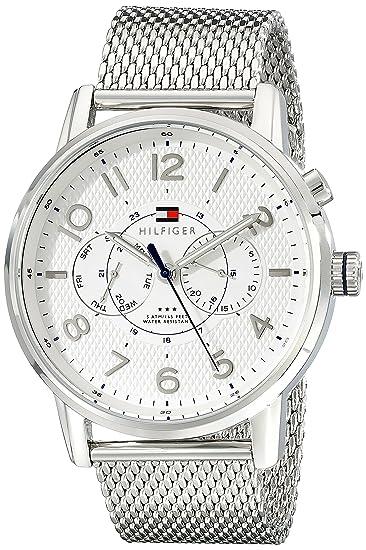 Tommy Hilfiger De los hombres Analógico Casual Cuarzo Reloj 1791087