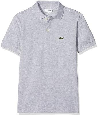 48ad16843e Lacoste Boy's PJ2909 Short Sleeve Polo T-Shirt: Lacoste: Amazon.co ...