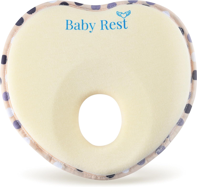 Almohada para dar forma a la cabeza plana para recién nacidos y ...