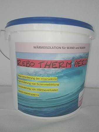 Rebotherm aero - Thermoputz 5 Liter gegen Schimmel und kalte ...