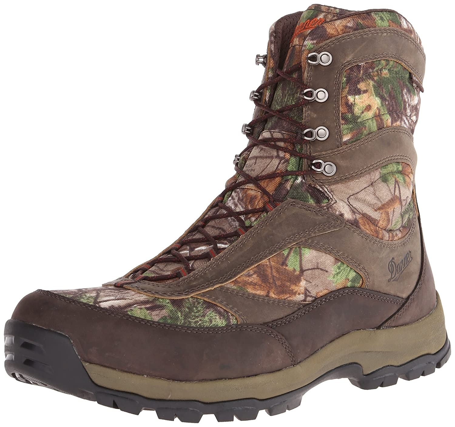Brown Green Danner Men's High Ground 8 Realtree Extra Hiking Boot