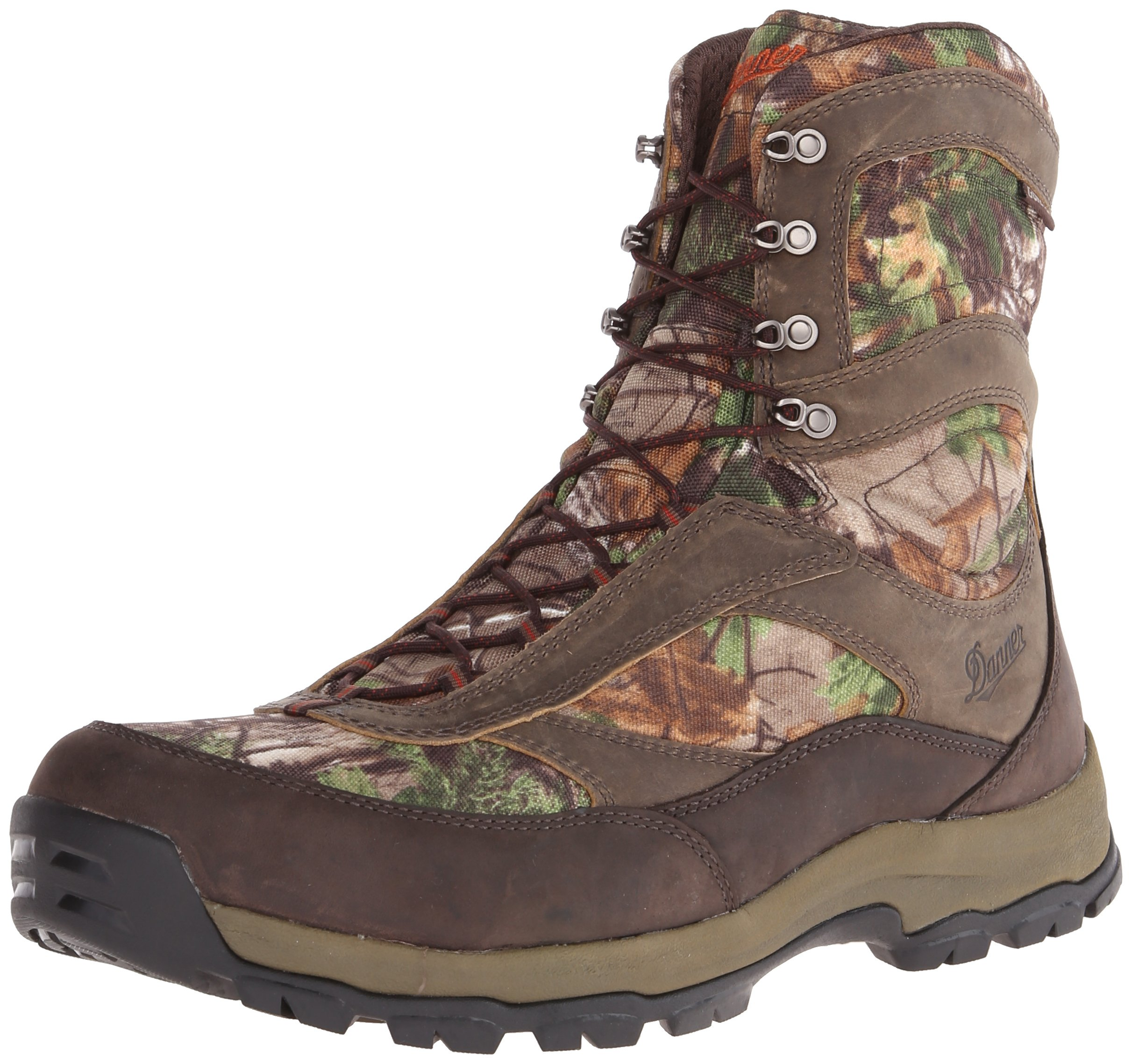 Danner Men's High Ground 8'' Realtree Xtra Hunting Boot,Brown/Green,8.5 D US by Danner