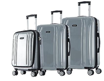 0c6bc6c25 Amazon.com: inUSA SouthWorld 3-Piece Hardside Spinner Luggage Set: Arts,  Crafts & Sewing