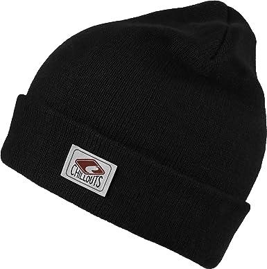 80f3abd62dc2f Chillouts Bonnet d'hiver Mitch Hat Bonnet Homme & Femme - Noir - Taille  Unique