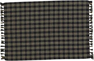 Sturbridge Black Placemat- Set of 4