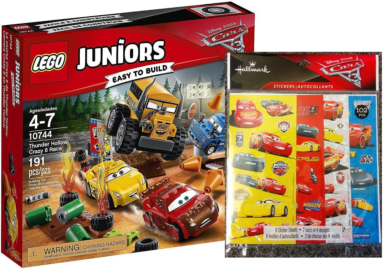 Lego Juniors Cars 10744 – Crazy 8 Racing en Thunder Hollow