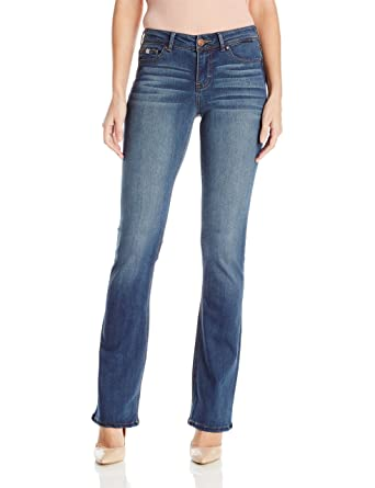 79ff7664f75 Jordache Legacy Women s Zoey Mid Rise Boot Cut Jeans Reign at Amazon Women s  Jeans store