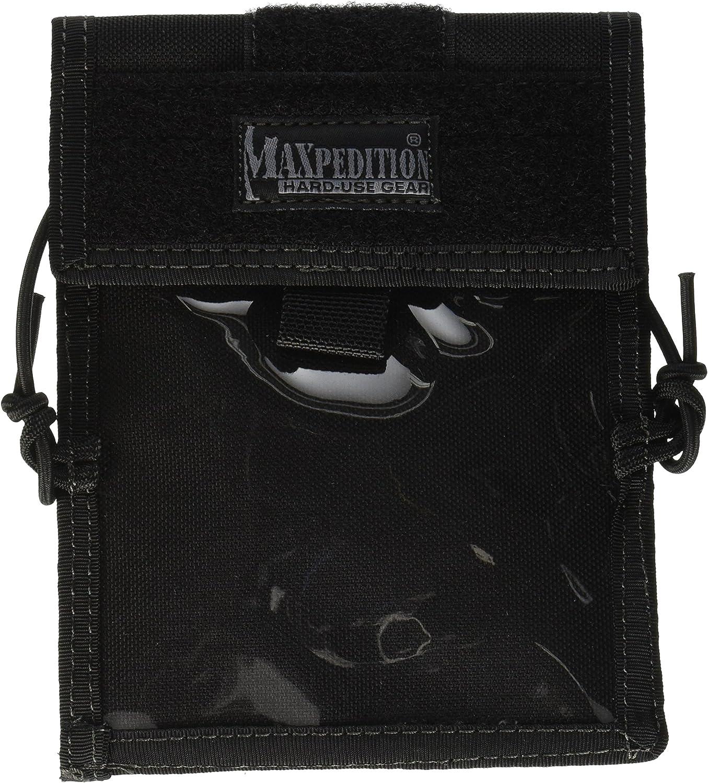 Maxpedition Traveler Passport//ID Carrier Black