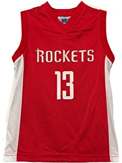 ... name number alternate jersey t 56dbf 13317  clearance adidas james  harden houston rockets nba red official away road replica jersey for women. 8c47a554f