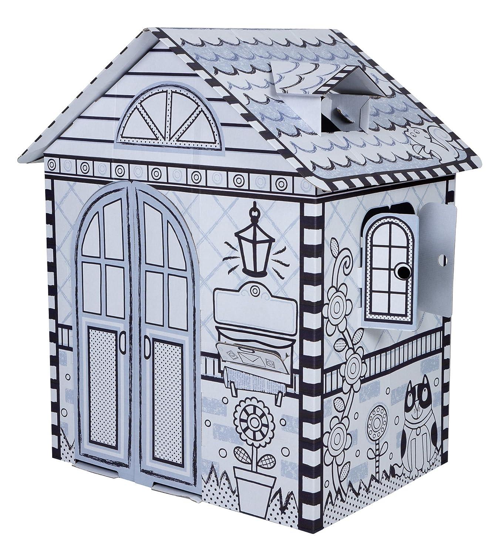 amazon com alex toys craft color a house children u0027s kit toys u0026 games