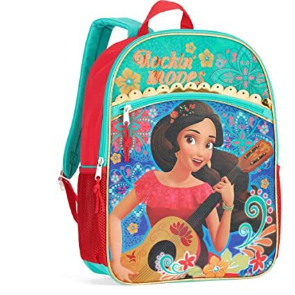 Image Unavailable. Image not available for. Color  Disney Elena Of Avalor  Rockin Moves 16 Full Size Backpack e2277c5880039