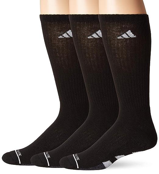 Adidas Cushioned Color Crew Socken 3 Pack Schwarz Onix Marl