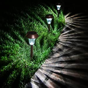 Enchanted Spaces Bronze Solar Path Light