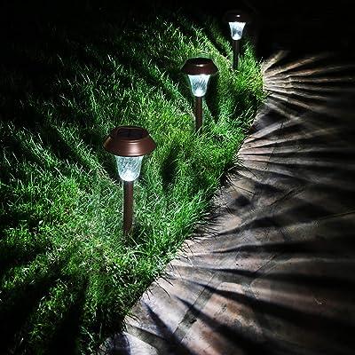 Enchanted Spaces Bronze Solar Path Light