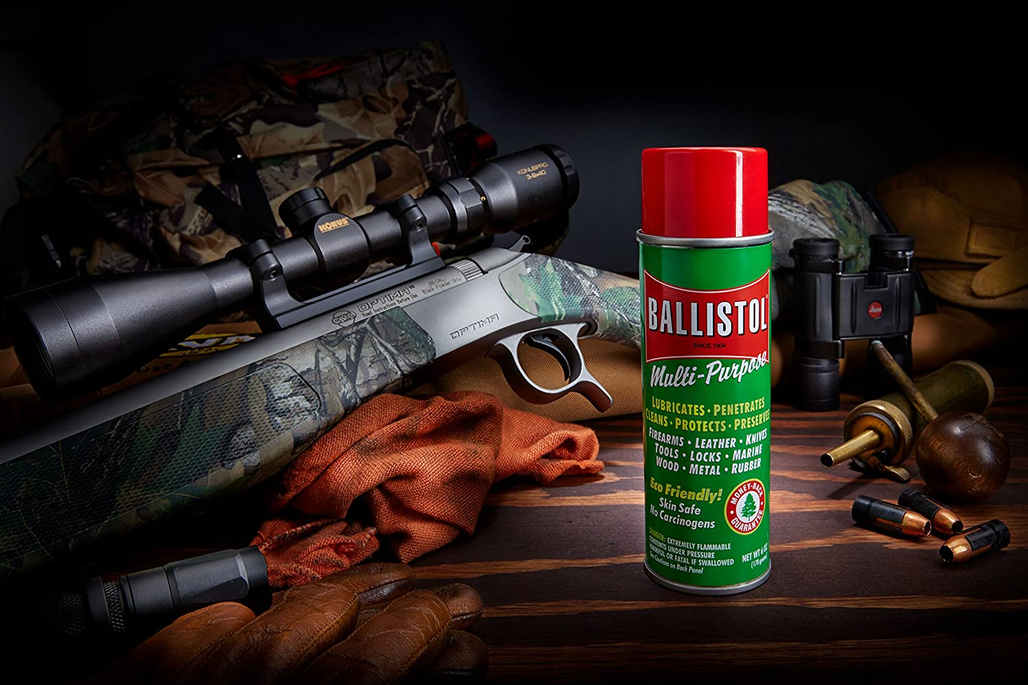 Ballistol Multi-Purpose Oil, Aerosol spray, 6 oz: Sports & Outdoors