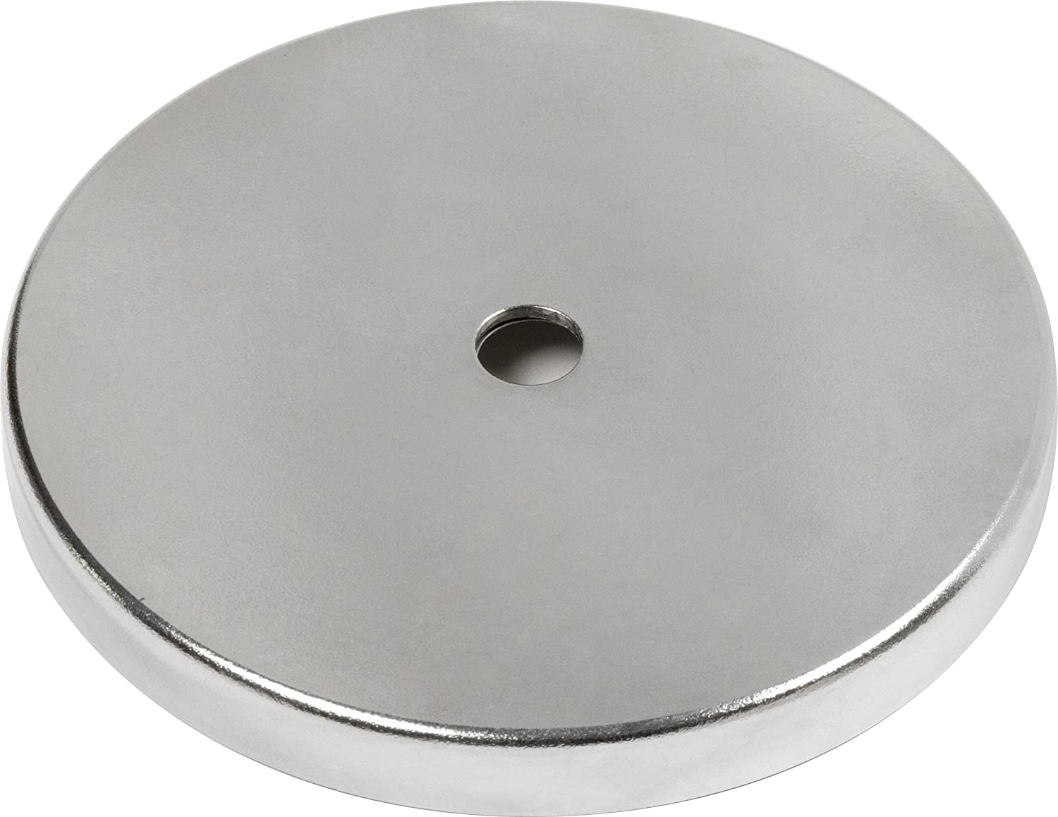 MAG-MATE MX5000 Ceramic Magnet in a Plated Cup, 4.9'/95 lb 4.9/95 lb Industrial Magnetics Inc