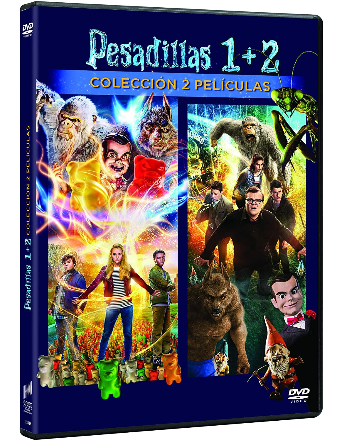 Pack: Pesadillas 1 + Pesadillas 2 [DVD]: Amazon.es: Wendi Mclendon-Covey, Madison Iseman, Jeremy Ray Taylor, Jack Black, Dylan Minnette, Odeya Rush, Ari Sandel, Rob Letterman, Wendi Mclendon-Covey, Madison Iseman, Columbia Pictures Corporation: