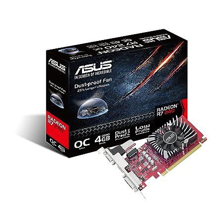Amazon.com: Asus Radeon R7 240, PCI Express 3.0, OpenGL 4.3 ...