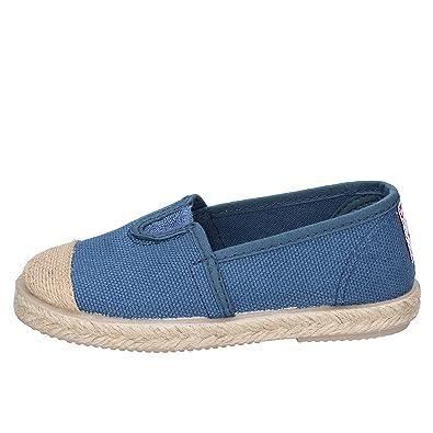 c20cf28d8edc9 CIENTA Espadrilles bébé garçon Textile Bleu  Amazon.fr  Chaussures ...