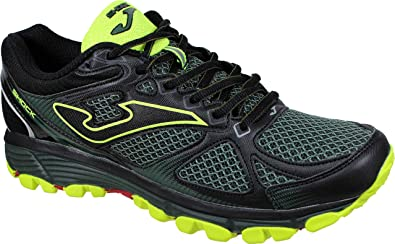Joma Shock Men 933 Verde - Zapatillas Trail-Runing Hombre (43 EU, Verde): Amazon.es: Zapatos y complementos