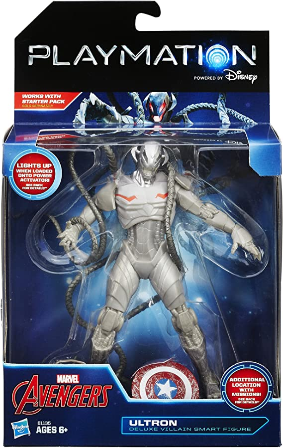 Playmation Marvel Avengers ULTRON Deluxe Villain Smart Figure