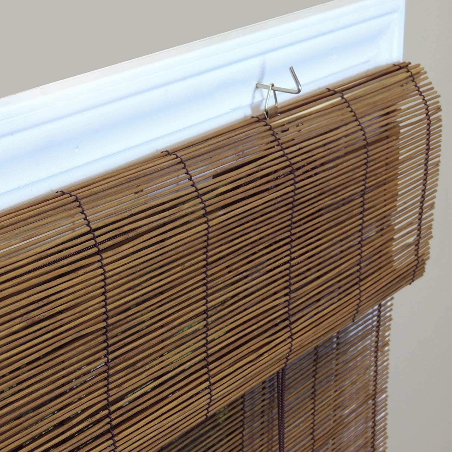 roller up blinds roll blind wood nz curtains bamboo caprice indoor