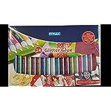 Glitter Glue 3D, 24 Tuben, in Geschenkkarton