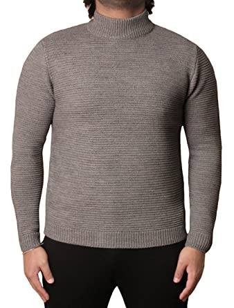 0ccb51a84f Mens Threadbare Turtle Neck Sweater Top Pullover Jumper Wool Mix VORDERMAN   Amazon.co.uk  Clothing