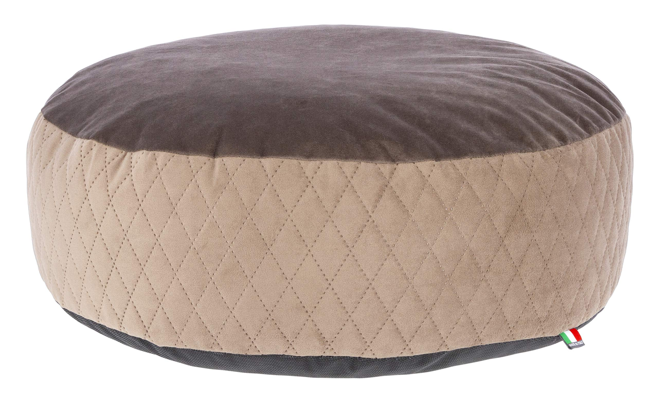 MaxiPet 80392 Dog Cushion Diameter 60 x 18 cm Taupe/Brown by MaxiPet