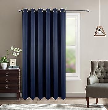 Amazoncom Sliding Glass Door Wide Width Curtain Patio Door Blind