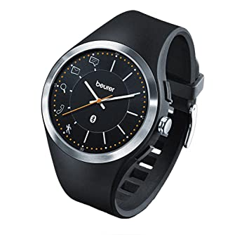 Beurer AW 85 - Reloj de Actividad con Bluetooth, Color Negro
