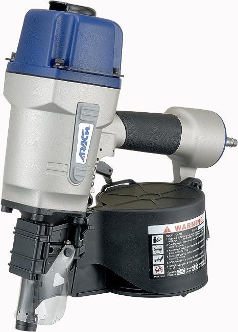 iFCOW Pistola de Clavos Neum/ática P625 Clavadora de Aire Neum/ática Grapadora de Aire para Clavo de Grano 100 Piezas Clavadora de Aire Longitud 10-25 Mm