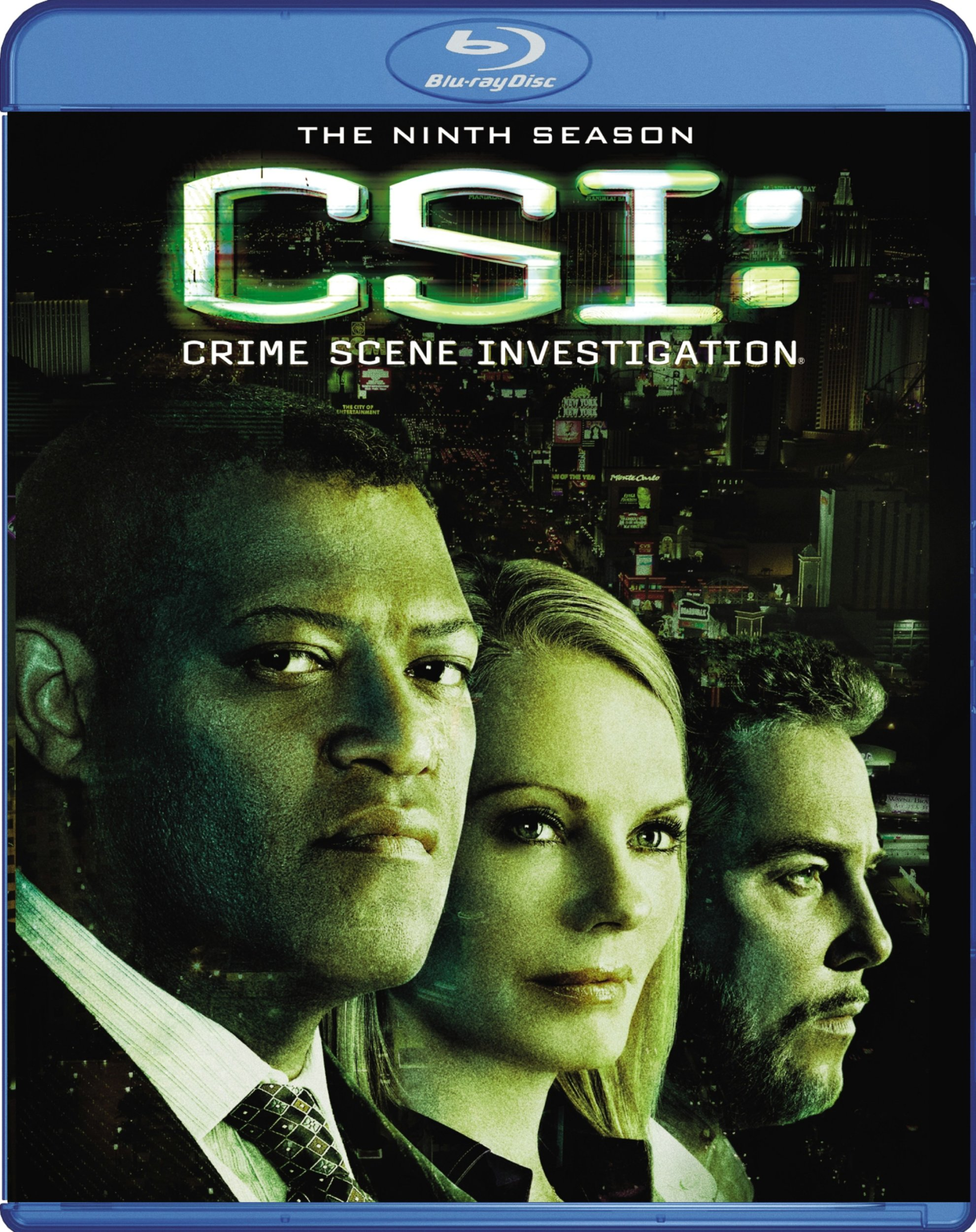 Blu-ray : CSI: Crime Scene Investigation: The Ninth Season (Dolby, AC-3, , Dubbed, Widescreen)