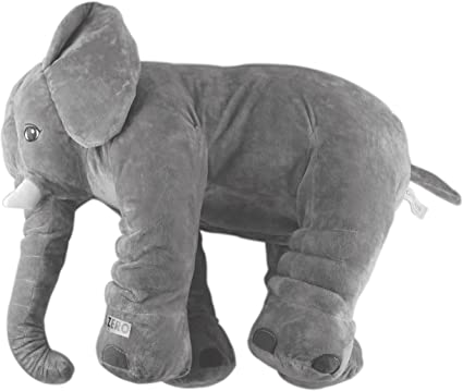 Children Baby Long Nose Large Elephant Doll Soft Plush Stuff Toys 9 inch