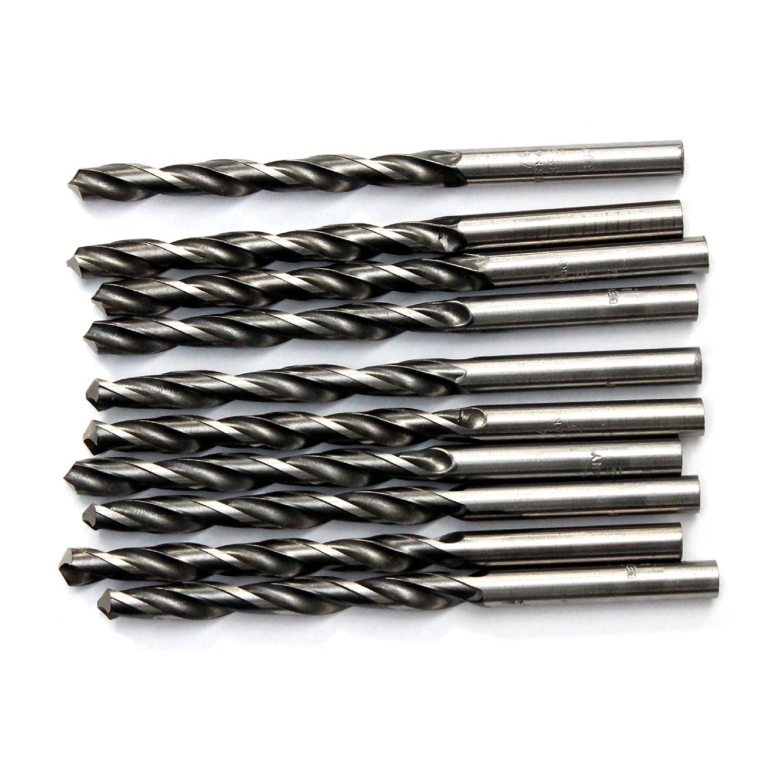10 brocas de acero HSS-G para taladro de BBW Germany de 5,6 mm de calidad industrial