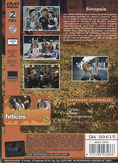 Aquellos Días Felices [DVD]: Amazon.es: Jean-Paul Rouve, Marilou Berry, Omar Sy, Julie Fournier, Jean Benguigui, Eric Toledano, Oliver Nakache: Cine y ...
