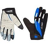 4ucycling Touchscreen Fahrradhandschuhe mit Gel Padded Super Atmungsaktiv Radsport Handschuhe